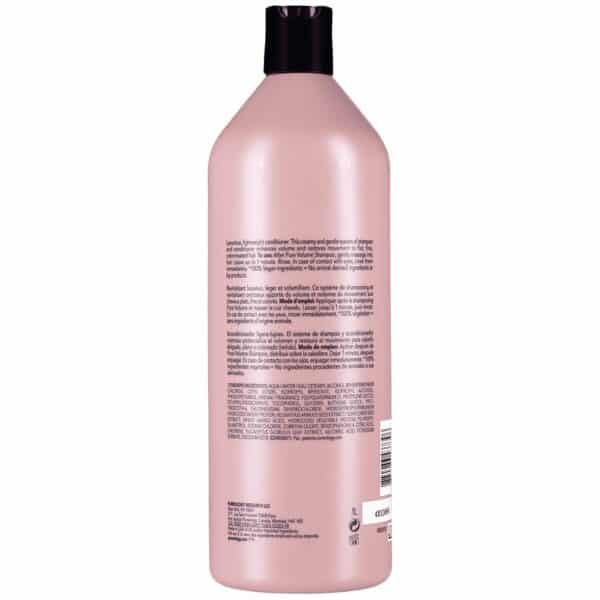 Pure Volume Conditioner 33.8 fl oz Pureology Back